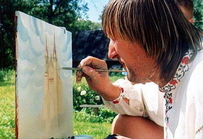 Минкульт: Картины художника Алеся Пушкина не представляют культурной ценности