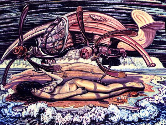 В Минске открылась выставка «Кибернетика живописи Александра Родина»