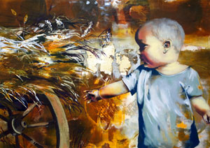 Бресте открылась выставка картин Анны Чепурной-Олейник