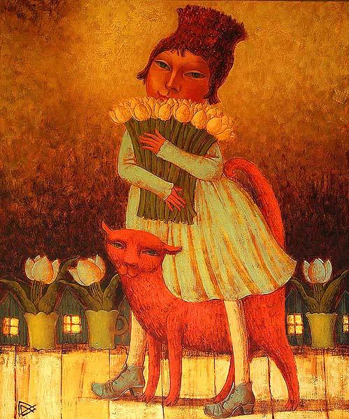 Картины белорусского художника Демидова дарят радость