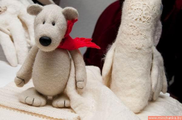 Снежный ком – выставка арт-объектов из войлока